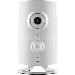 HD Video Monitoring Wireless Security Camera Surveillance System Hub (White)
