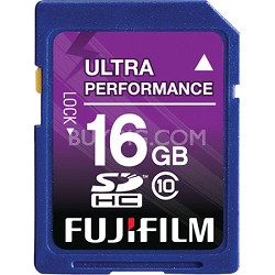 16 GB SDHC Class 10 Flash Memory Card