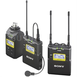 Lavalier Microphone Wireless System w/ TX, Plug-On TX & Portable RX UWPD16/30