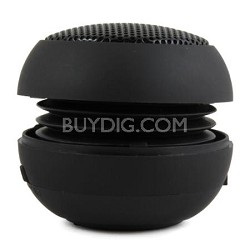 Speaker Ball for iPhone, iPod, iPad, All Tablets, and MP3's - Black