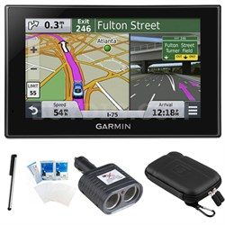 "nuvi 2589LMT Advanced Series 5"" GPS Navigation System with Bluetooth Bundle"