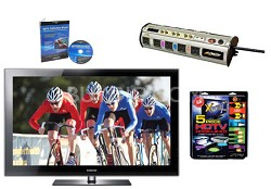LN40B750 - HDTV + High-performance Hook-up Kit + Power Protection + Calibration