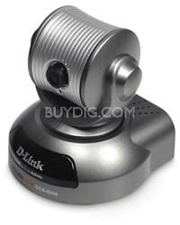 10/100 IP Camera, CCD, 1.0 Lux, Pan/Tilt, 4x Digital Zoom, MPEG-4, 2-Way Audio