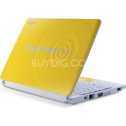 "Aspire One HAPPY 2 10.1"" Netbook PC (Yellow) - Intel Atom N570 Dual-Core Proc."