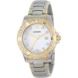 Ladies' Sport Watch - White Mother-of-Pearl Dial/Bicolor Steel Bracelet