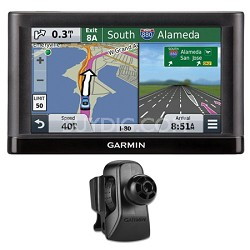 "nuvi 55 Essential Series GPS Navigation System with 5"" Display Vent Mount Bundle"