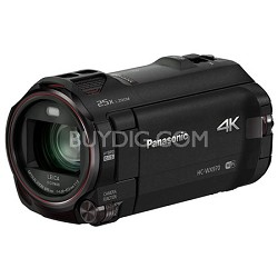 HC-WX970K 4K Ultra HD Camcorder with Built-in Twin Video Camera