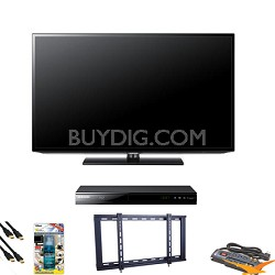 UN46EH5000 46 inch 60hz LED HDTV Blu Ray Bundle