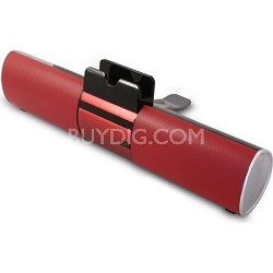 Concept Red Bluetooth Speaker Bar with Dock For Smartphone or Tablet