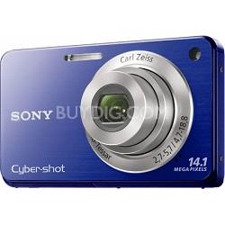 Cyber-shot DSC-W560 Blue Digital Camera