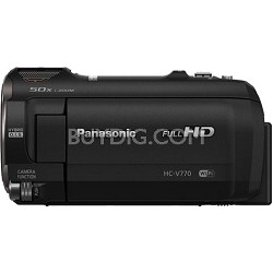 HC-V770K HD Camcorder with Wireless Smartphone Twin Video Capture