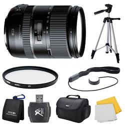 28-300mm F/3.5-6.3 Di VC PZD Lens for Canon Bundle