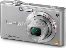 DMC-FX48S LUMIX 12.1 MP Compact Digital Camera with HD Movie (Silver)