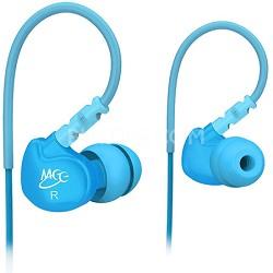 M6 Sports In-Ear Headphones (Teal)