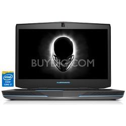 """Alienware 17 17.3"""" HD Anti-Glare Notebk PC -Intel Core i7-4710MQ Proc - OPEN BOX"""