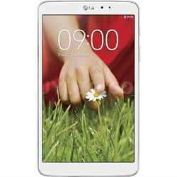 "G Pad V 500 16GB 8.3"" Tablet 1.7GHz (White) Manufacturer Refurb 90 Day Warranty"