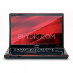 """18.4"""" / 4GB DDR3 500GB HD 7200rpm Blu-Ray NVIDIA GeForce 360M i7 740 QM"""