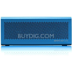 570 Portable Bluetooth Speaker, Speakerphone, and Charger (Blue) BZ570UBP