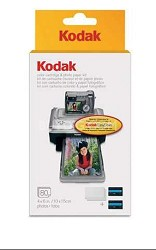 80-pack Color Cartridge/Photo Paper Kit for the Printer Docks