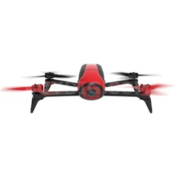 Bebop 2 Quadcopter Drone with HD Video 14MP Flight Camera (Red) PF726000
