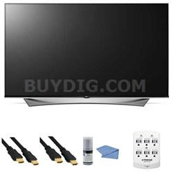 65UF9500 - 65-Inch 2160p 240Hz 3D LED 4K UHD Smart TV with WebOS + Hookup Kit
