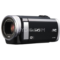"GZ-EX210BUS - HD Everio f1.8 40x Zoom 3.0"" Touch LCD WiFi (Black) - Refurbished"