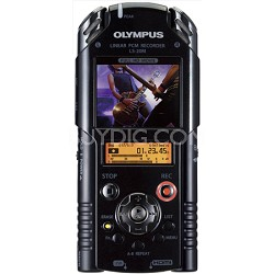 LS-20M Pro Portable Digital Recorder and HD Video Camera - REFURBISHED