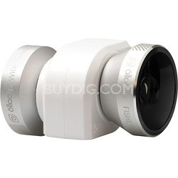 4-in-1 Lens for iPhone 5/5S, Silver