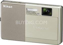 COOLPIX S70 12MP 3.5 inch Touchscreen Digital Camera (Beige)
