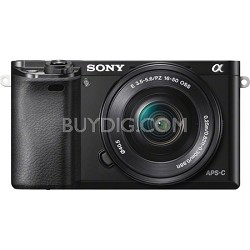 Alpha a6000 Mirrorless Digital Camera with 16-50mm Lens