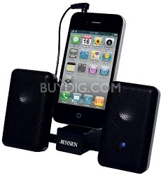 SMPS-225 Portable Stereo Speaker System for iPod, iPhone, and MP3