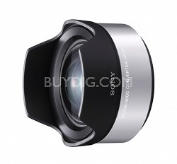 VCLECU1 High Definition Wide Angle Conversion Lens (Silver)