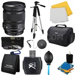 24-105mm F/4 DG HSM Lens for Sony Bundle