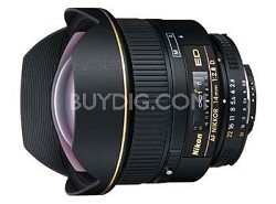 14mm F/2.8D ED AF Nikkor Wide Angle Lens with Nikon 5-Year USA Warranty