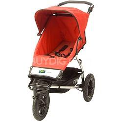 Urban Single Jogging Stroller, Red