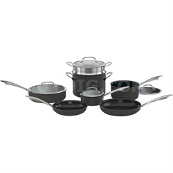 DSA-11 - Dishwasher Safe Hard Anodized 11-Piece Cookware Set
