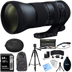 SP 150-600mm F/5-6.3 Di VC USD G2 Zoom Lens for Nikon with Tap In Console & Mem