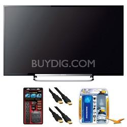 "KDL-60R520A 60"" LED 240Hz Internet HDTV Surge Protector Bundle"