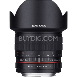 10mm F2.8 Ultra Wide Angle Lens for Fuji X Mount
