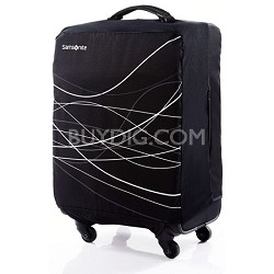 Foldable Luggage Cover, Medium - Black