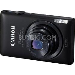 PowerShot ELPH 300 HS 12MP Black Digital Camera w/ 1080p Video