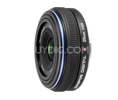 25mm f/2.8 ED Zuiko Lens for Olympus Digital & Four Thirds System