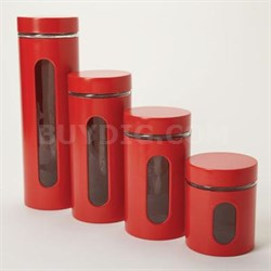 Palladian Canister Set Red