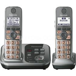 KX-TG7732S Dect 6.0 2-Handset Landline Telephone - OPEN BOX