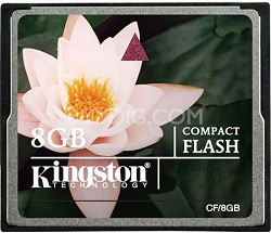 8GB CompactFlash Memory Card
