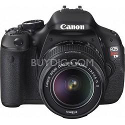 EOS Rebel T3i 18mp DSLR Camera and 18-55mm Lens - OPEN BOX