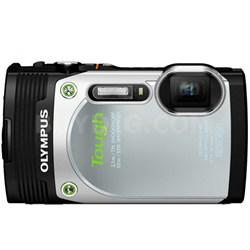 TG-850 16MP Waterproof Shockproof Freezeproof Digital Camera -Silver Refurbished