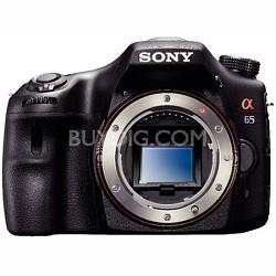 SLTA65V - a65 Digital SLR Camera 24.3 MP Body Only