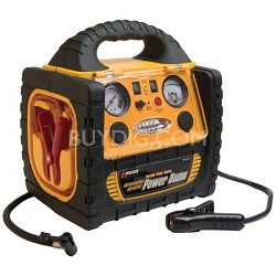 400 Watt Power Dome Jump Starter w / Built-In Air Compressor & LED - OPEN BOX