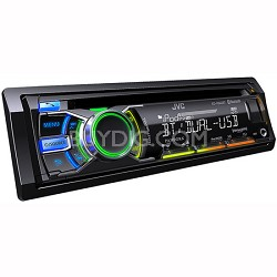1-DIN Reciever with Bluetooth/Dual USB/CD/AUX (KDR840BT)